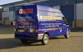 Photographic and art delivery and Installation services, Genesis Imaging