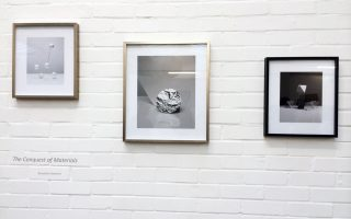 The Conquest of Materials (installation view) © Benjamin Swanson. Printed as a Giclée Fine Art Print with Bespoke Framing.