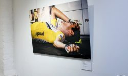 'Beyond the Peloton' (installation view) © Geoff Waugh
