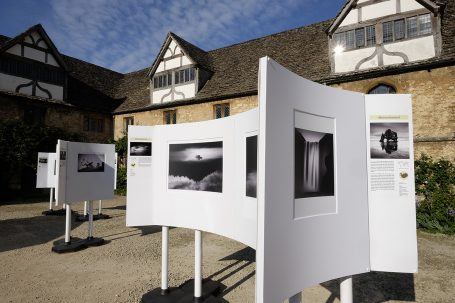 The Travel Photographer of the Year exhibition tours to Lacock Abbey.