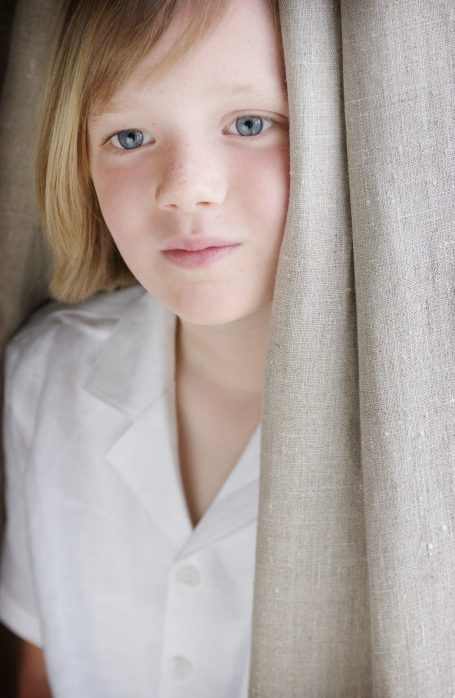 'Ella, Aged 7' © James Yeats-Brown. Exhibited at The National Portrait Gallery in 2005 as part of the Photographic Portrait Prize sponsored by Schweppes. Produced as a Giclée Fine Art Print by Genesis Imaging.