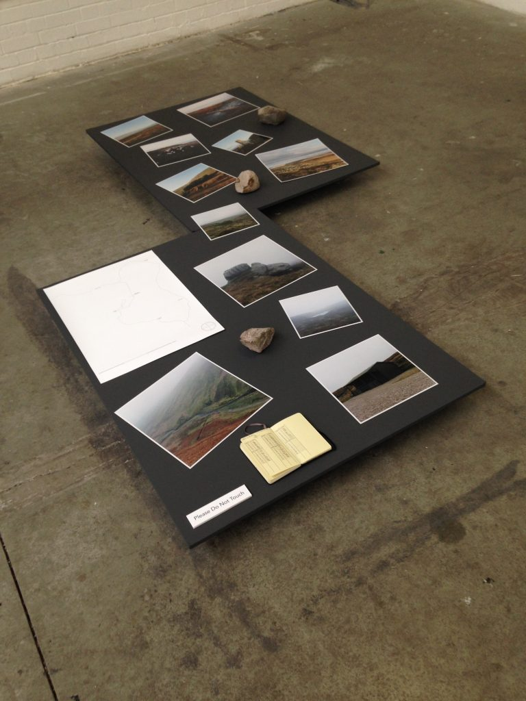 Tom Illsley 'Meridian' at Freerange Art and Design Show with Nottingham Trent University
