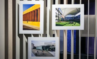 Arcaid Images Architectural Photography Award 2015 exhibition at Sto Werksatt. Giclée Fine Art Prints by Genesis Imaging.