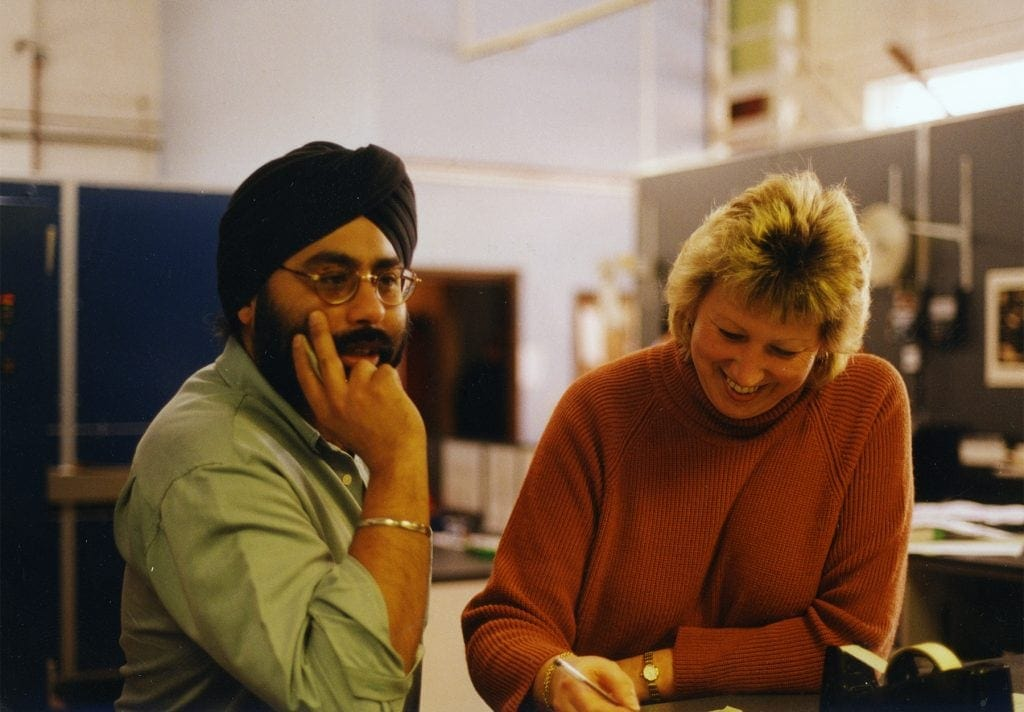 Ken Sethi and Lynda Blackwell, ciirca 1999/2000