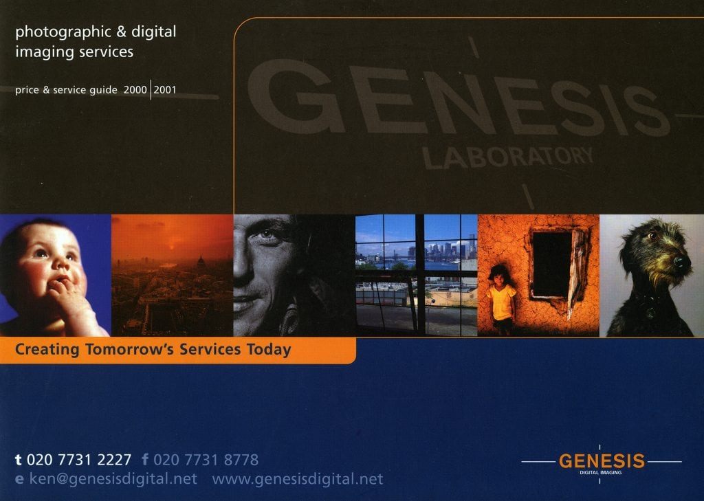 Genesis Digital Imaging, price and service guide 2000 / 2001.