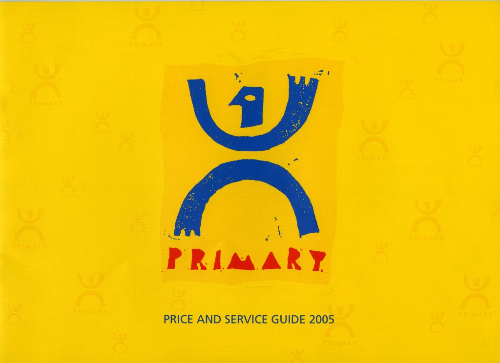 Primary Colour Price List and Guide, 2005.