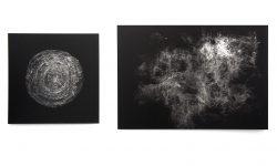 Mindscape (install) print on aluminium mirror, 70 x 50 cm , (2014) © Emilie Pugh