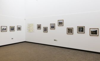 Tom Illsley 'Meridian' at Nottingham Lakeside Arts Centre. Lambda C-type prints by Genesis Imaging. Image © Tom Illsley.