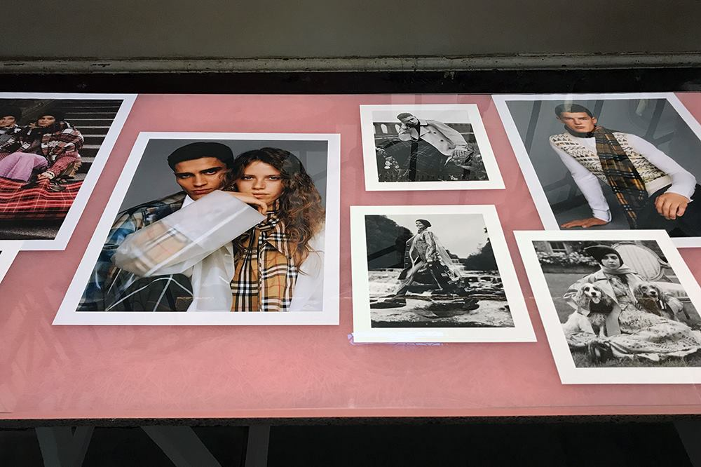 Burberry 'Here We Are'. Prints by Genesis Imaging.