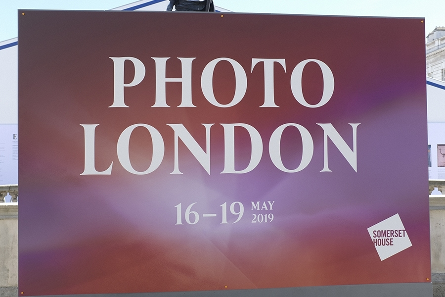 Outdoor Signage on Dibond Panel for Photo London