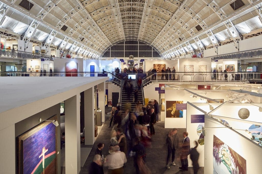 London Art Fair at Business Design Centre, Islington