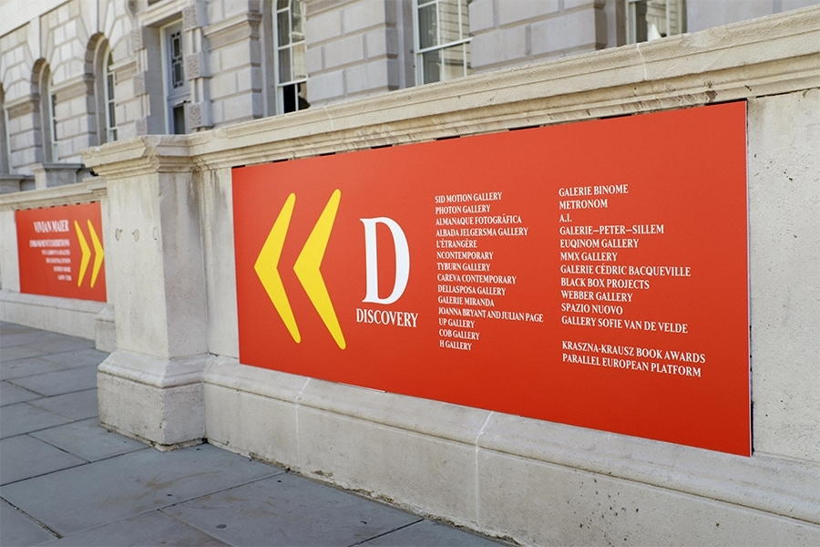 Outdoor Signage on Foamex Board Panel for Photo London