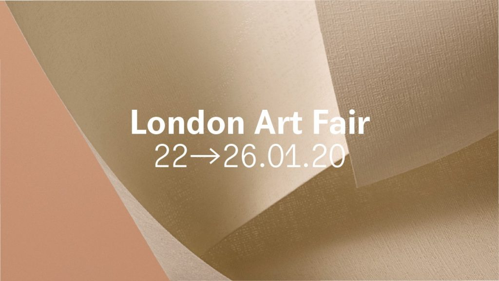 London Art Fair dates 22-26.01.2020