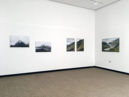 Installation view: Jade Fantom 'Out in the Open' Exhibition at Lakeside Arts, supported by Genesis Imaging