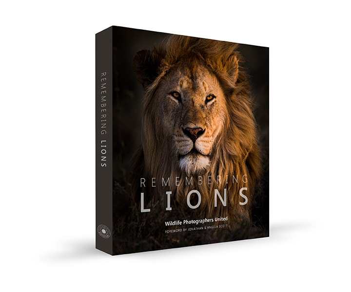 Remembering Lions book cover by Wildlife Photographers United