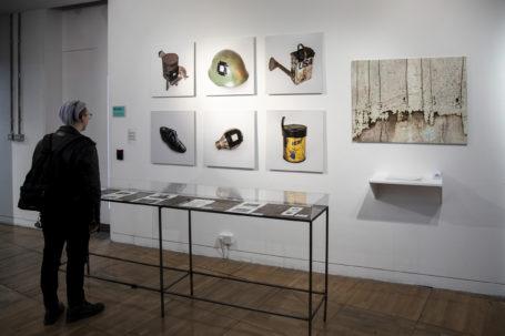 Luke Watson 'Witness Objects' Installation for LCC