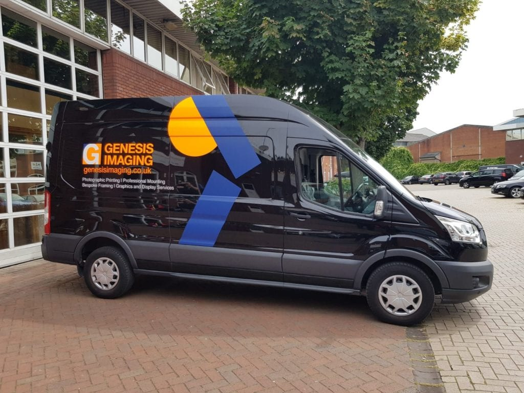 Genesis Imaging's shiny new van
